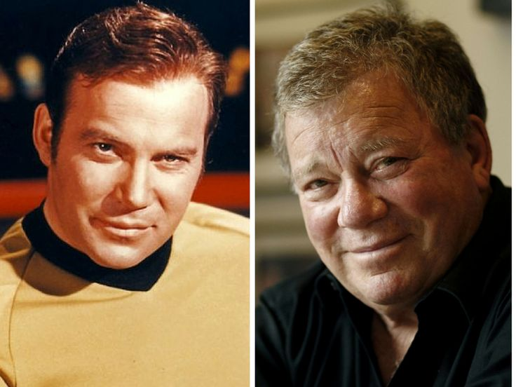 The Cast Of Star Trek Then & Now                       Captain James T. Kirk – William Shatner                        William Shatner made a name for himself as Captain Kirk in Star Trek and has since starred in over 30 TV shows and 20 movies.
