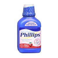 Bayer Bayer Phillips Milk Of Magnesia Liquid Cherry, Cherry 12 oz (Pack of 3)