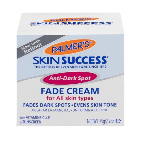 Palmer's Skin Success Anti-Dark Spot Fade Cream For All Skin Types, 2.7 OZ, Multicolor