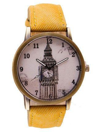 Kup mój przedmiot na #vintedpl http://www.vinted.pl/akcesoria/bizuteria/15802068-oryginalny-zegarek-z-motywem-big-bena