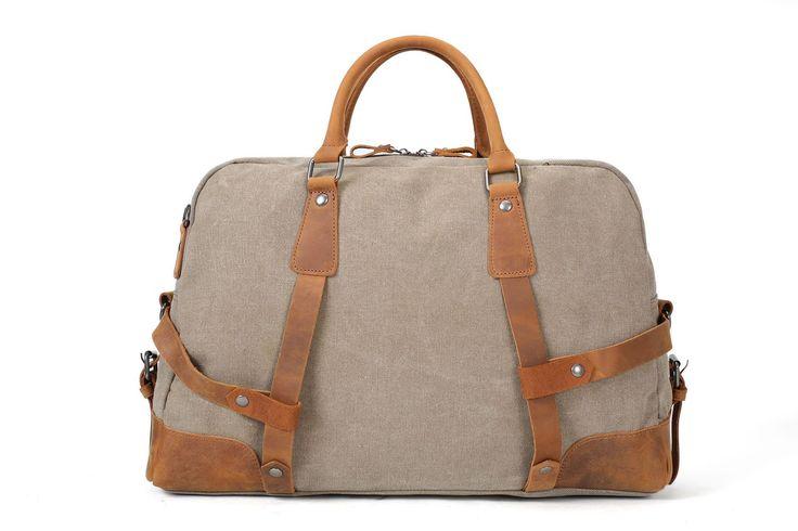 Canvas Tote Duffle Travel Handbag Weekend Bag AF29