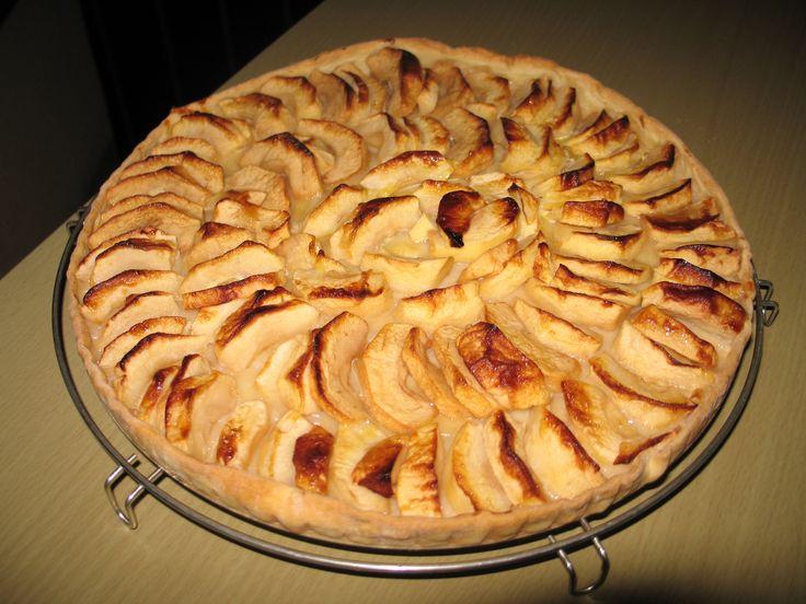 Receta de tarta de manzana casera para diabéticos | Dulces diabéticos