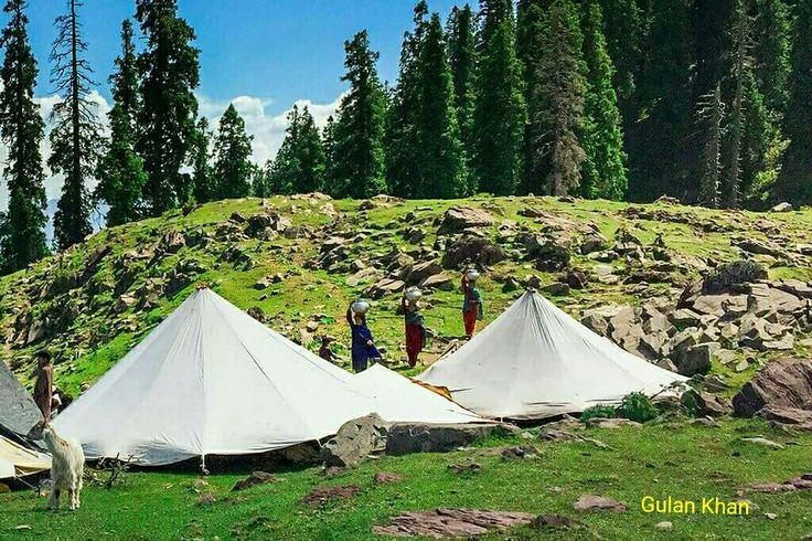 Awesome view of beautiful Azad Kashmir Pakistan