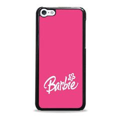 Barbie Logo Pink Pattern Unque Iphone 5c Cases