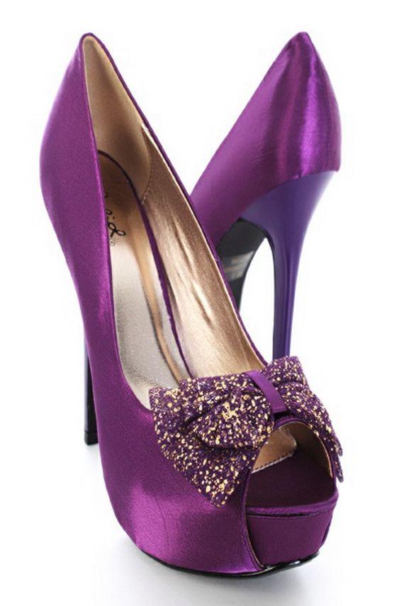 Shoe Laces Purple