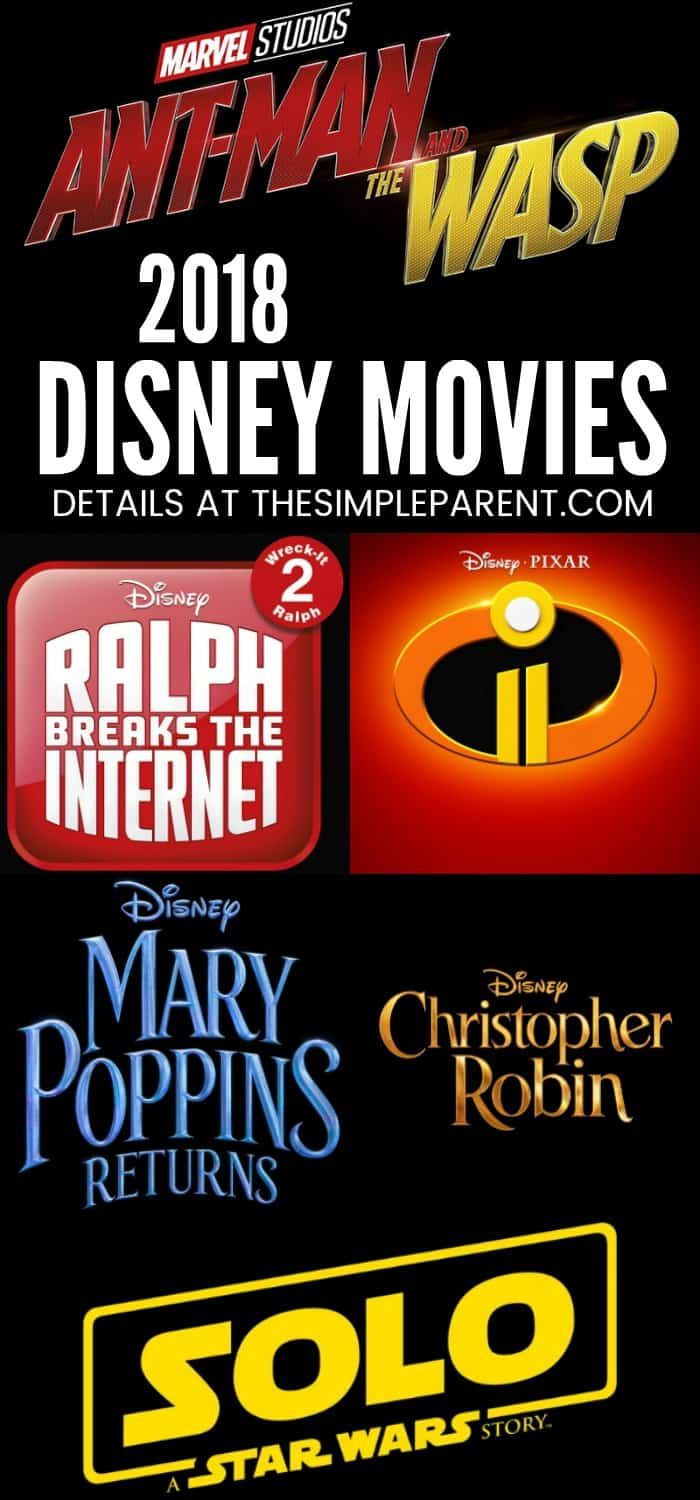 Disney Movies Coming Out In 2018 Marvel Star Wars Too An
