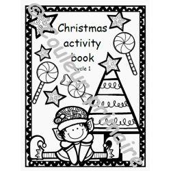 Christmas activity book Cycle 1 Cahier d'activités de Noël (version anglaise)
