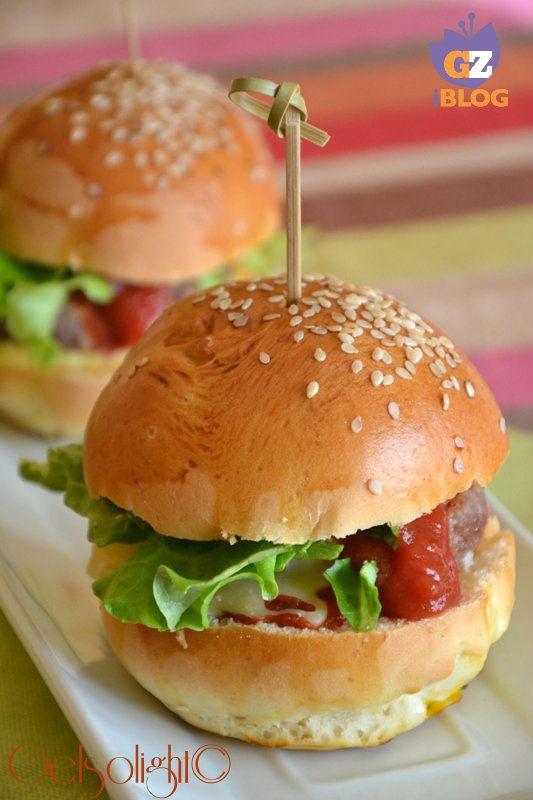 Panini per hamburger, burger buns
