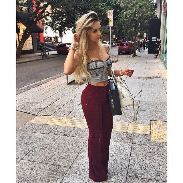 Fashion for Love: Rafaella Kalimann - Top Cropped
