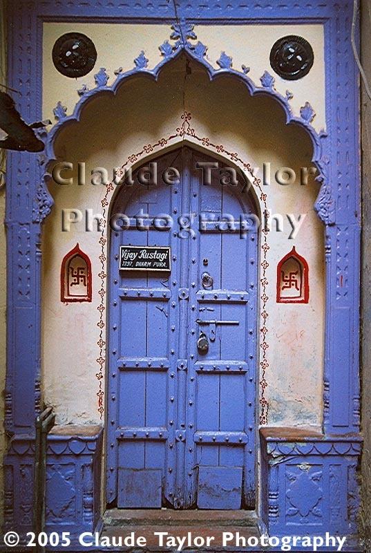 Doorway in Delhi