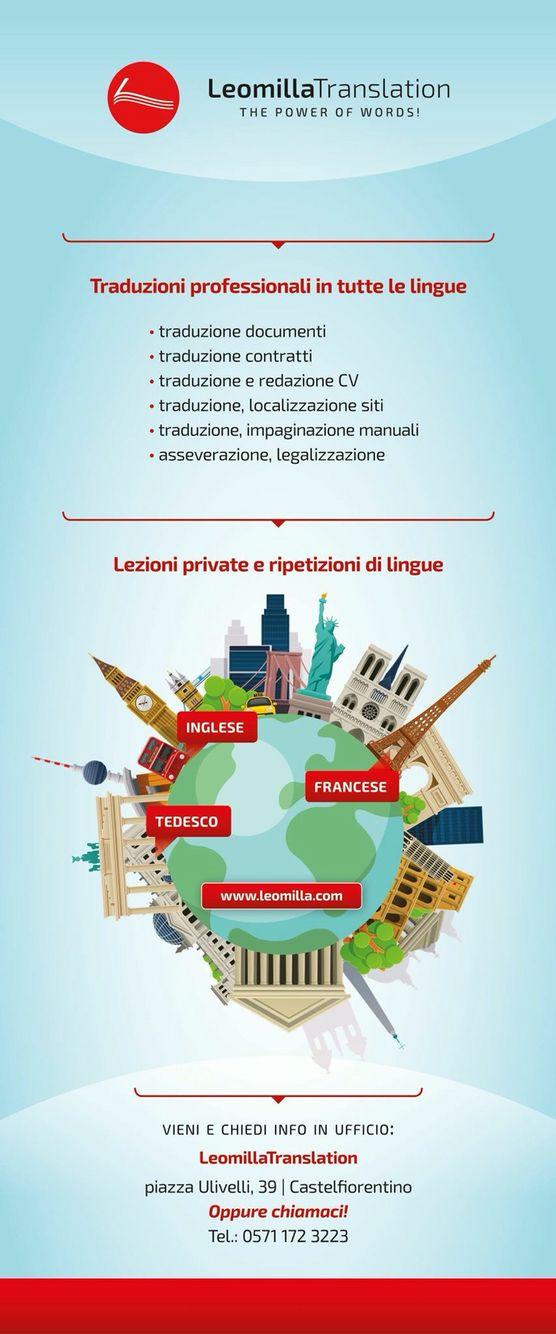 Traduzioni e lezioni private presso Leomilla Translation a Castelfiorentino