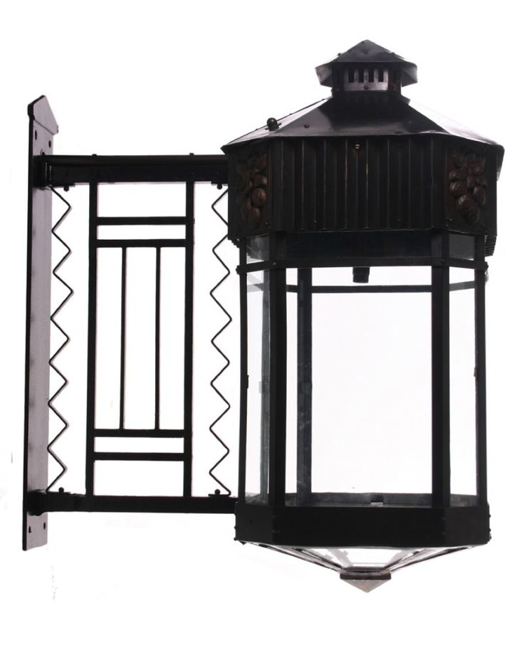 A Pair Of Very Large, Rare, Antique, Copper, Outdoor Lanterns At Fritz