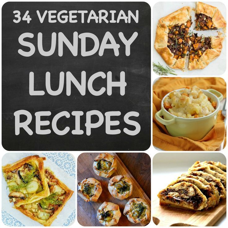 34 vegetarian sunday lunch recipes you need to know about for Sunday lunch ideas