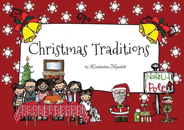 christmas traditions social studies for pre