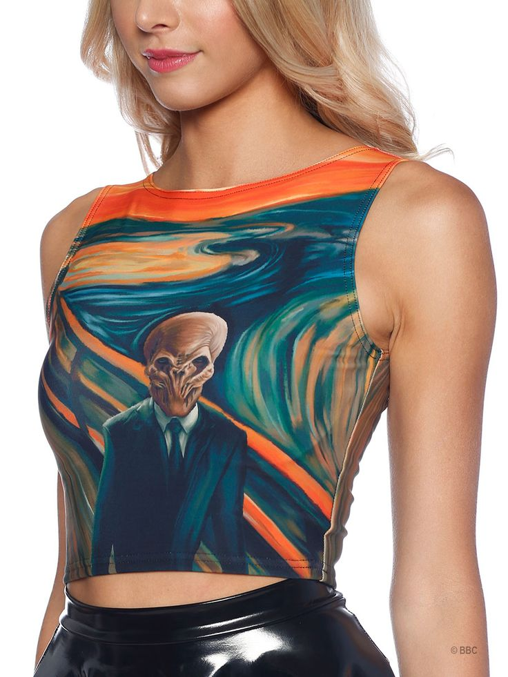 The Silence Scream Wifey Top (WW ONLY $60AUD) by Black Milk Clothing
