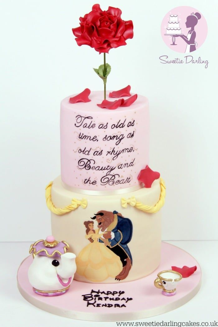 Beauty and the Beast Rose Tutorial