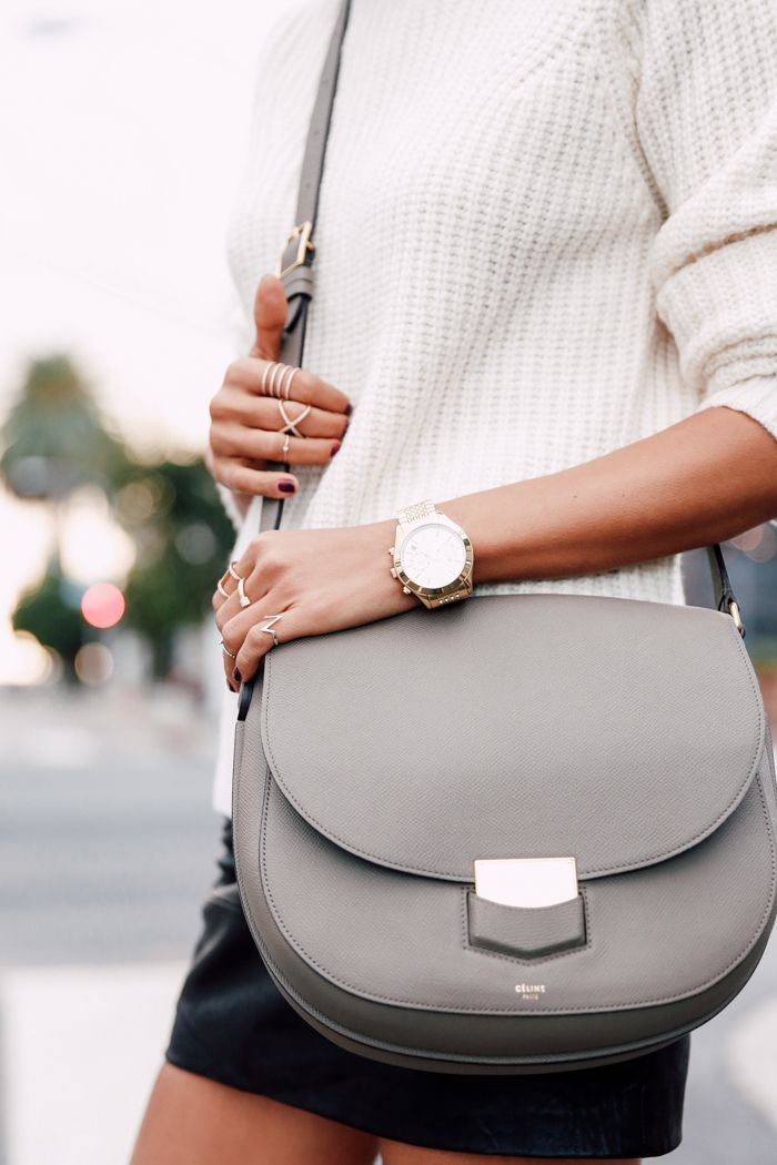 Celine bag & Michael Kors watch
