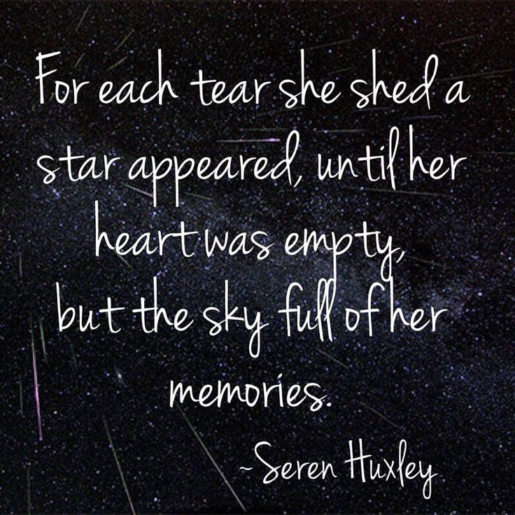 For each tear she shed a star appeared, until her heart was empty, but the sky full of her memories  #poetry #poetsofinstagram #quotestoliveby #quoteoftheday #star #starpoem #starquotes #quotes #writing #randommusings #hoplessromantic #brokenheart #universe #allthestarsinthesky #serenhuxley #tears #memories #memorieswithyou