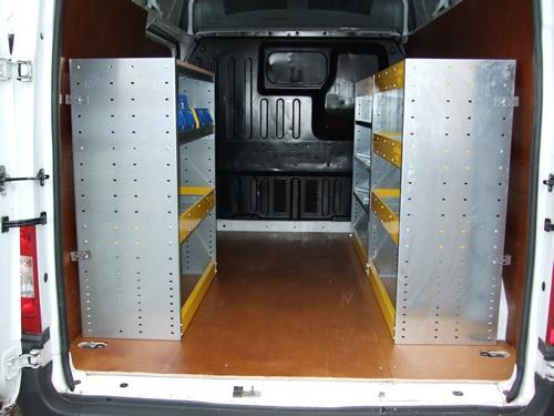 Van Racking System For Vivaro, Trafic, Primaster Vans