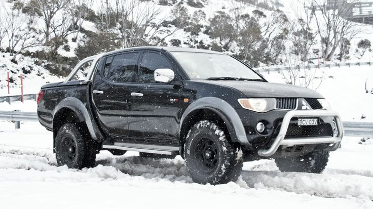 mitsubishi triton...miss my L200.....best truck I have had