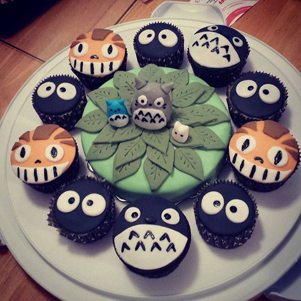 My Neighbor Totoro cupcakes