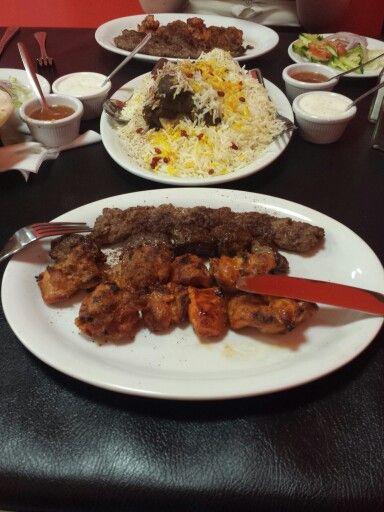 Afghan food #kebabs