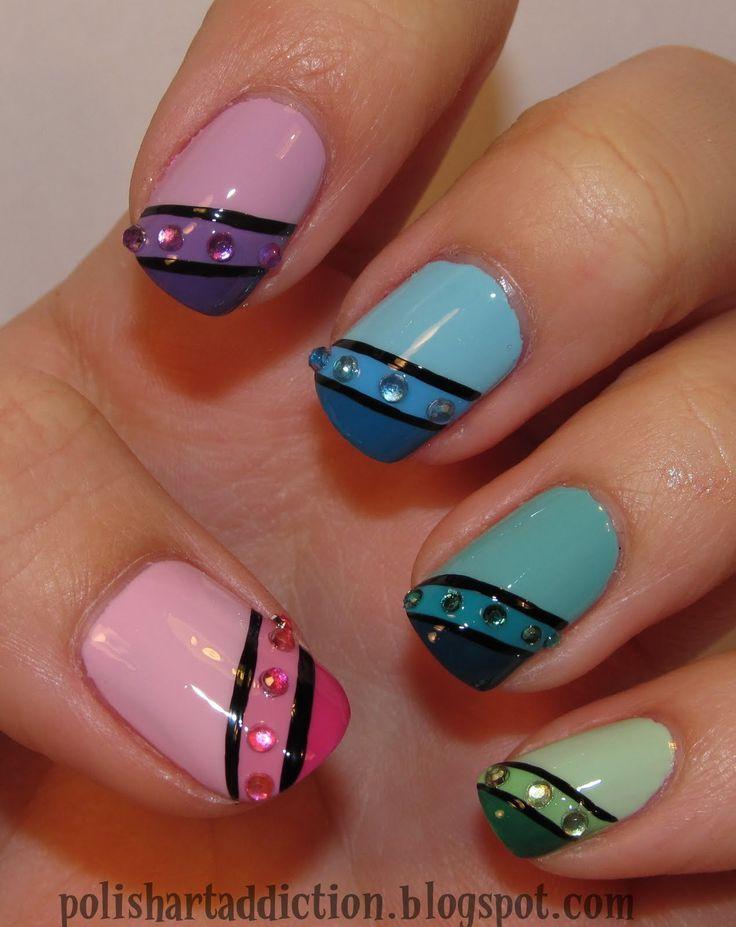 My Nail Polish Obsession My Birthday Nails: Nail Gems (ohhhhhh Pretty!!!!!) I Used To Have My Nails
