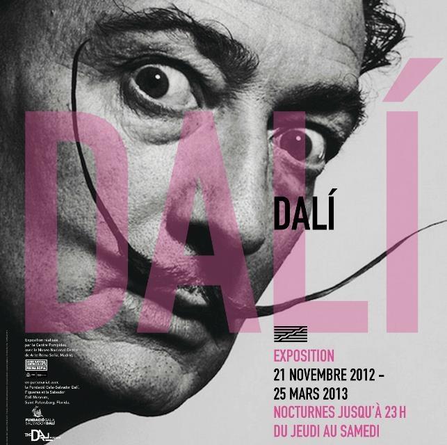 Une #exposition à ne pas manquer, vous avez jusqu'au 25 mars à #Paris pour découvrir près de 200 œuvres de Dali : une rétrospective inédite de l'univers controversé de cet artiste talentueux. Plus d'infos pratique sur notre blog : http://ow.ly/gGNFB