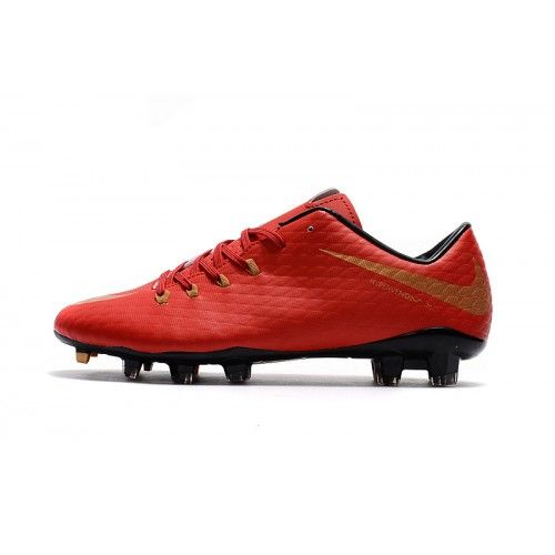 Comprar Nike Hypervenom Phantom FG Rojo Zapatos De Futbol