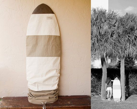 Chapman at Sea Surfboard Bag Surf Sock Canvas Cover custom made just for YOU