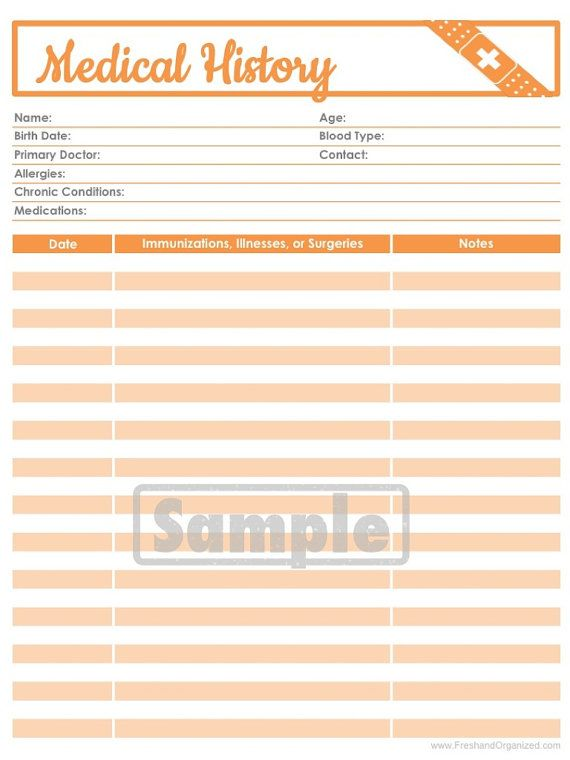 188 best LOG, TRACKER, PLANNER, BINDER AND JOURNAL FOR HEALTH - dental records release form