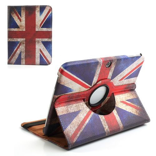 Mesh - Samsung Galaxy Tab 3 10.1 Hoes - Rotatie Cover Britse Vlag | Shop4TabletHoes