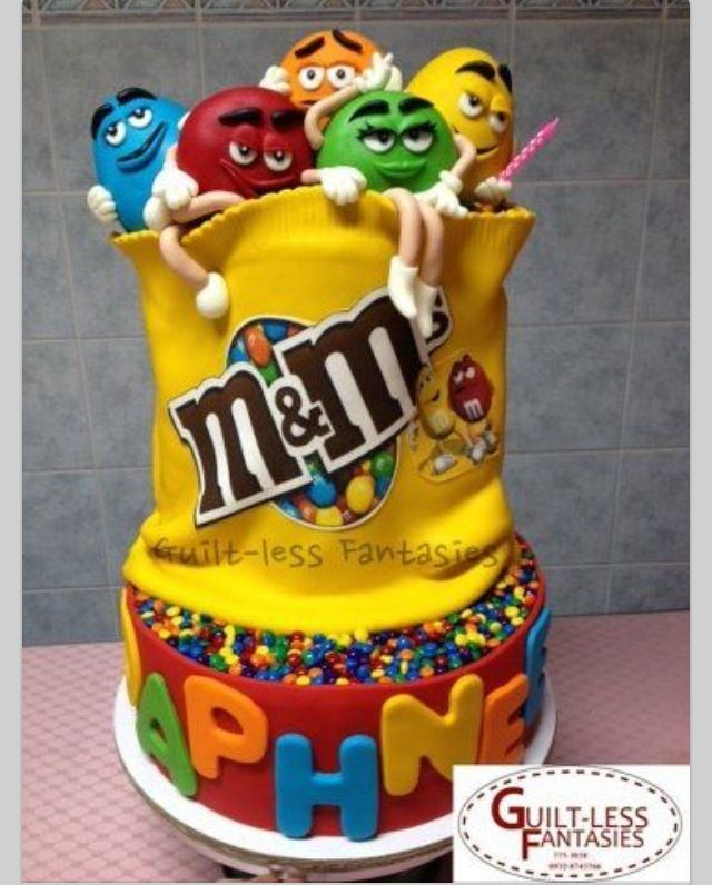 36 best MMs Cakes images on Pinterest Cakes Gravity defying