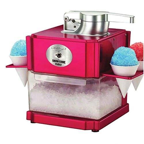 Máquina picadora de hielo para helados y cócteles http://www.milideaspararegalar.es/producto/maquina-picadora-hielo-para-helados-cocteles/