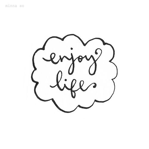 My Calligraphy Enjoy Life More Here: pinterest calligraphy