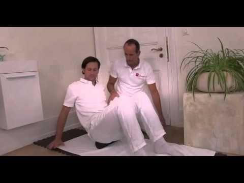 Hüftschmerzen bis ins Gesaß // Übungen mit der Faszienrolle