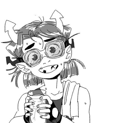 kid equius. what a weird kid.
