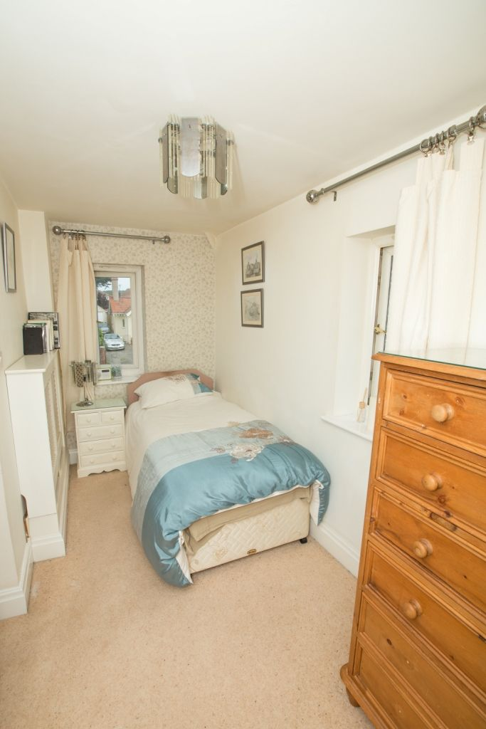 Bedroom 4 currently used as single bedroom,  built in wardrobe, Would make excellent nursery or dressing room.  Access to ensuite shower room.
