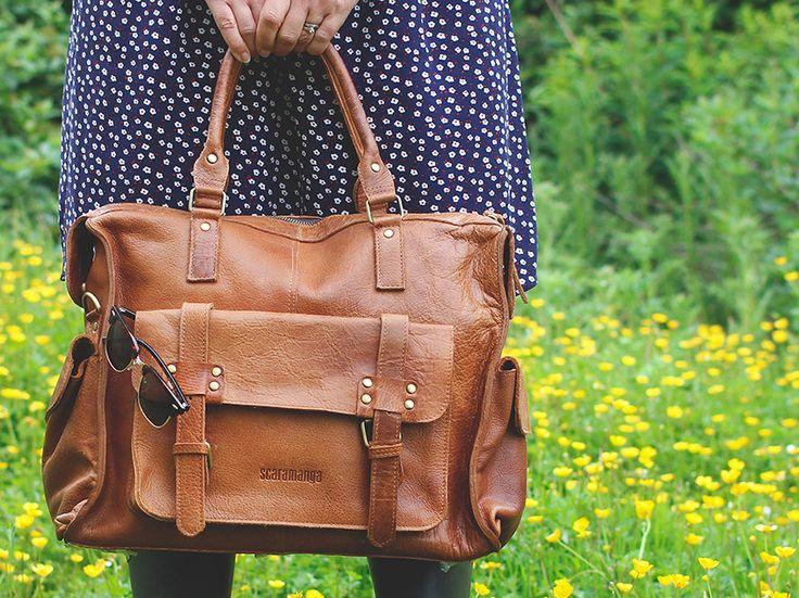 Weekender Bag for women   leather overnight bag   travel bag for women
