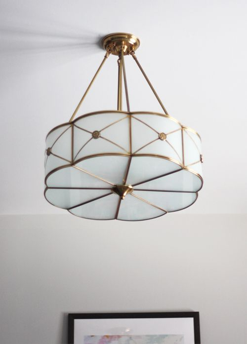 The manufacturer is ELK Lighting and their name for this fixture is the Preston 6 Light Pendant.