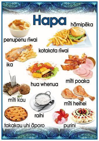 Māori Poster: Dinner