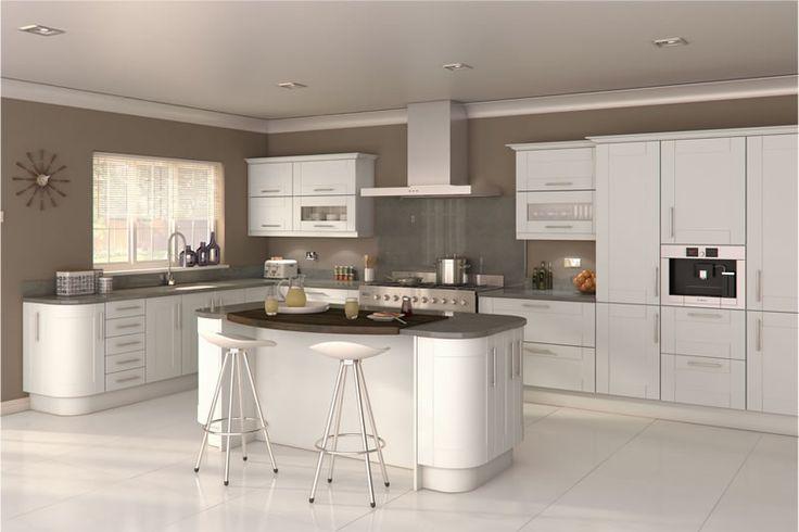 Fulford White Kitchens - Buy Fulford White Kitchen Units at Trade Prices