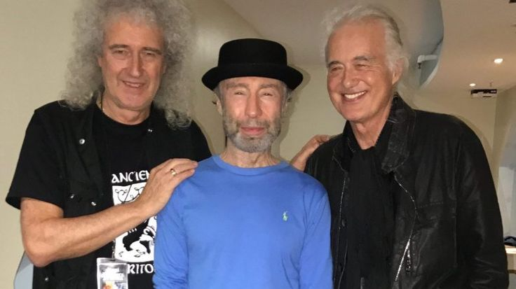 Jimmy Page attended Paul Rodgers' show at the Royal Albert Hall - Led Zeppelin News