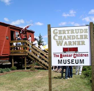 We love The Boxcar Children - wouldn't this be a fun place to visit?!