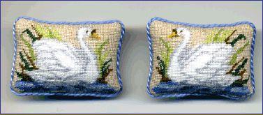 Anja's miniature needlework