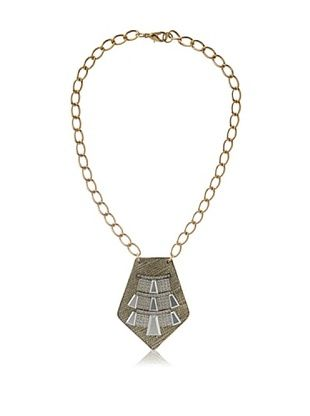 61% OFF Sandy Hyun Deco Metal Necklace