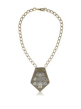 61% OFF Sandy Hyun Deco Metal Necklace