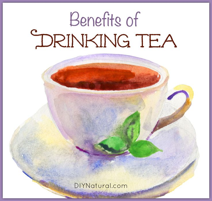 Benefits of Drinking Tea with herbal teas mentioned for specific benefits.