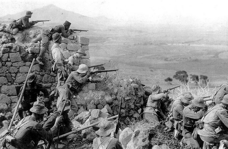 VIII Bandera of spanish Legion defend Alhucemas fort during Rif campaign, 1926