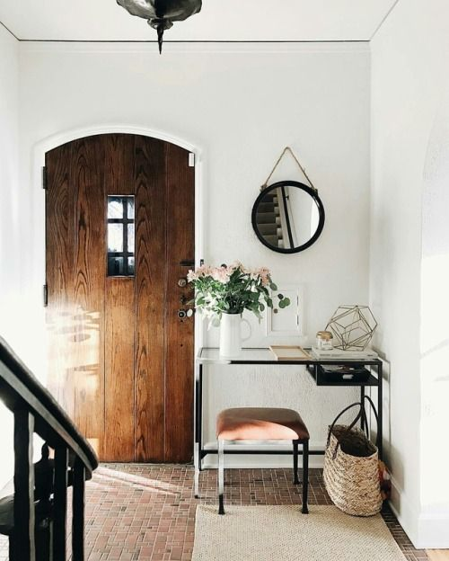 oldfarmhouse: Tiny foyer, big personality. from...